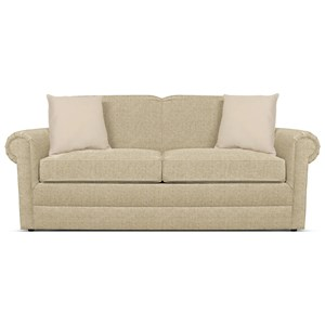 Visco Full Size Sleeper Loveseat with Traditional Furniture Style