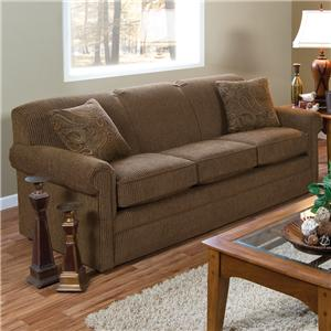 Air Queen Size Sleeper Sofa with Traditional Furniture Style