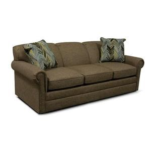 Visco Queen Size Sleeper Sofa with Traditional Furniture Style