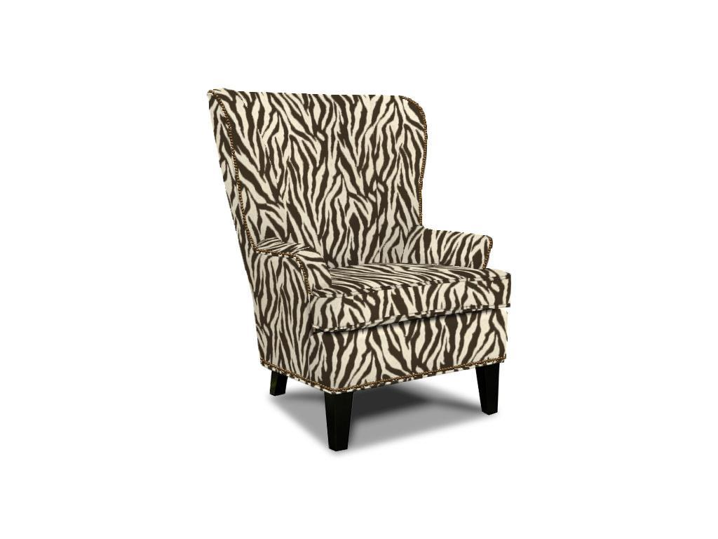 Saylor Wing Chair by England at Dunk & Bright Furniture
