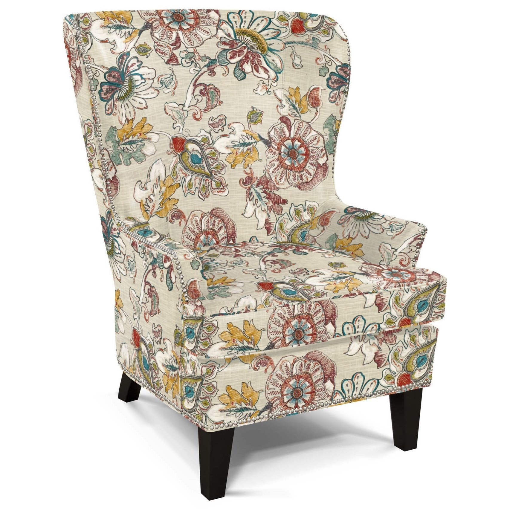 Saylor Wing Chair by England at Westrich Furniture & Appliances