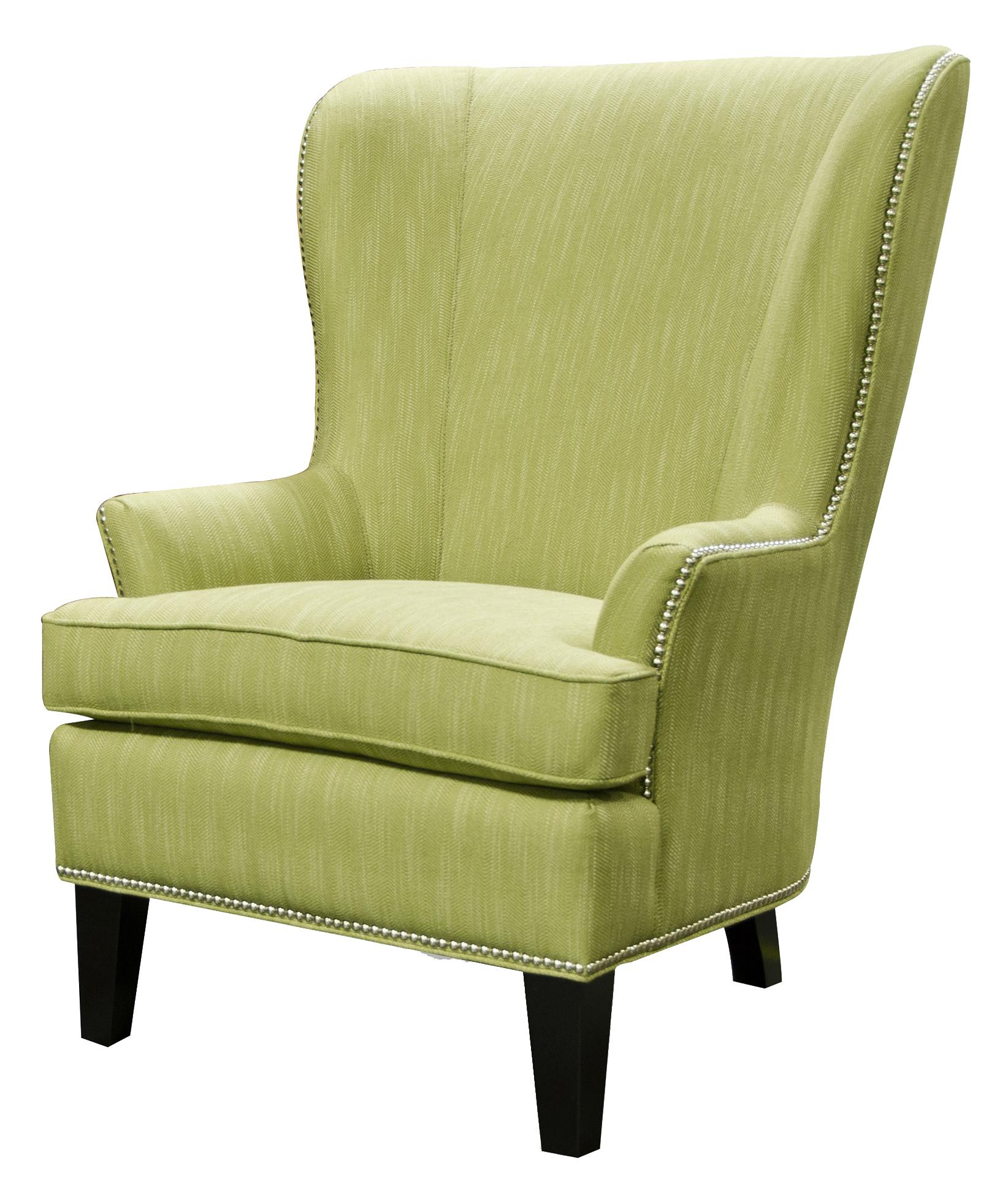 Saylor Wing Chair by England at H.L. Stephens