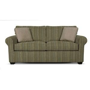 Visco Mattress Full Size Sleeper Sofa with Family Room Style