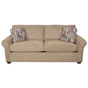 Queen Size Sleeper Sofa with Casual Style