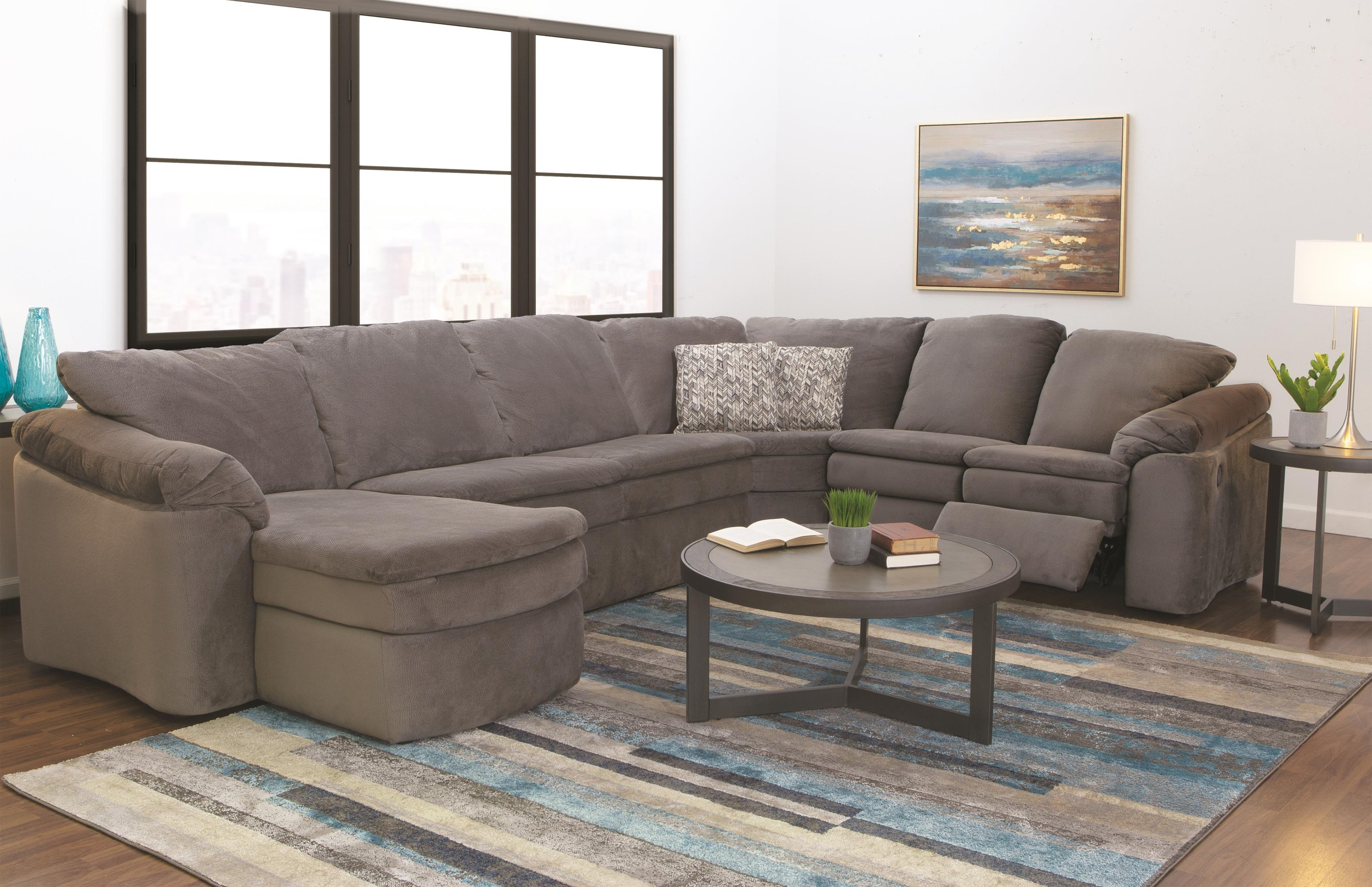 Seneca Falls Sectional Sofa by England at Darvin Furniture