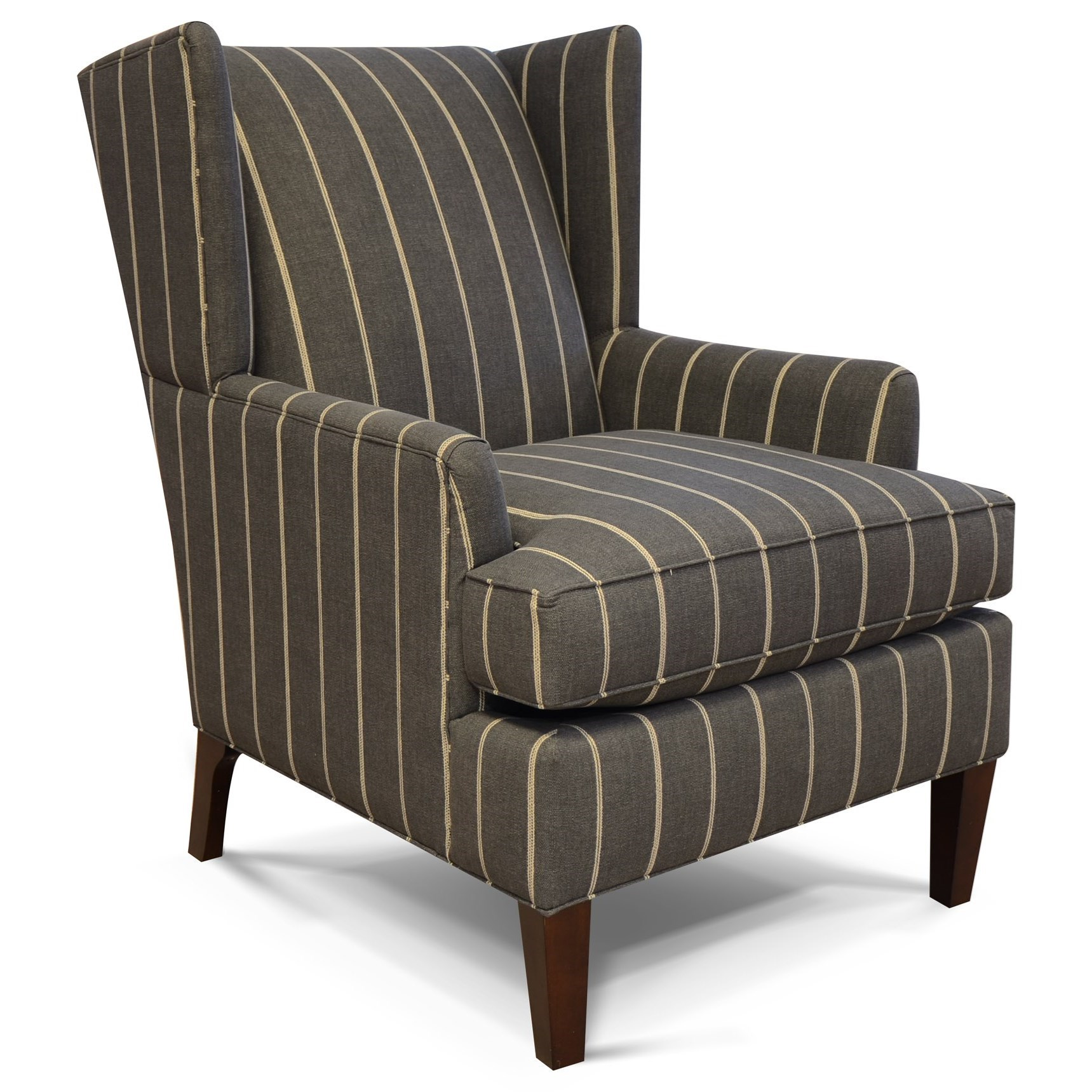 Shipley Wing Back Arm Chair by England at Pilgrim Furniture City