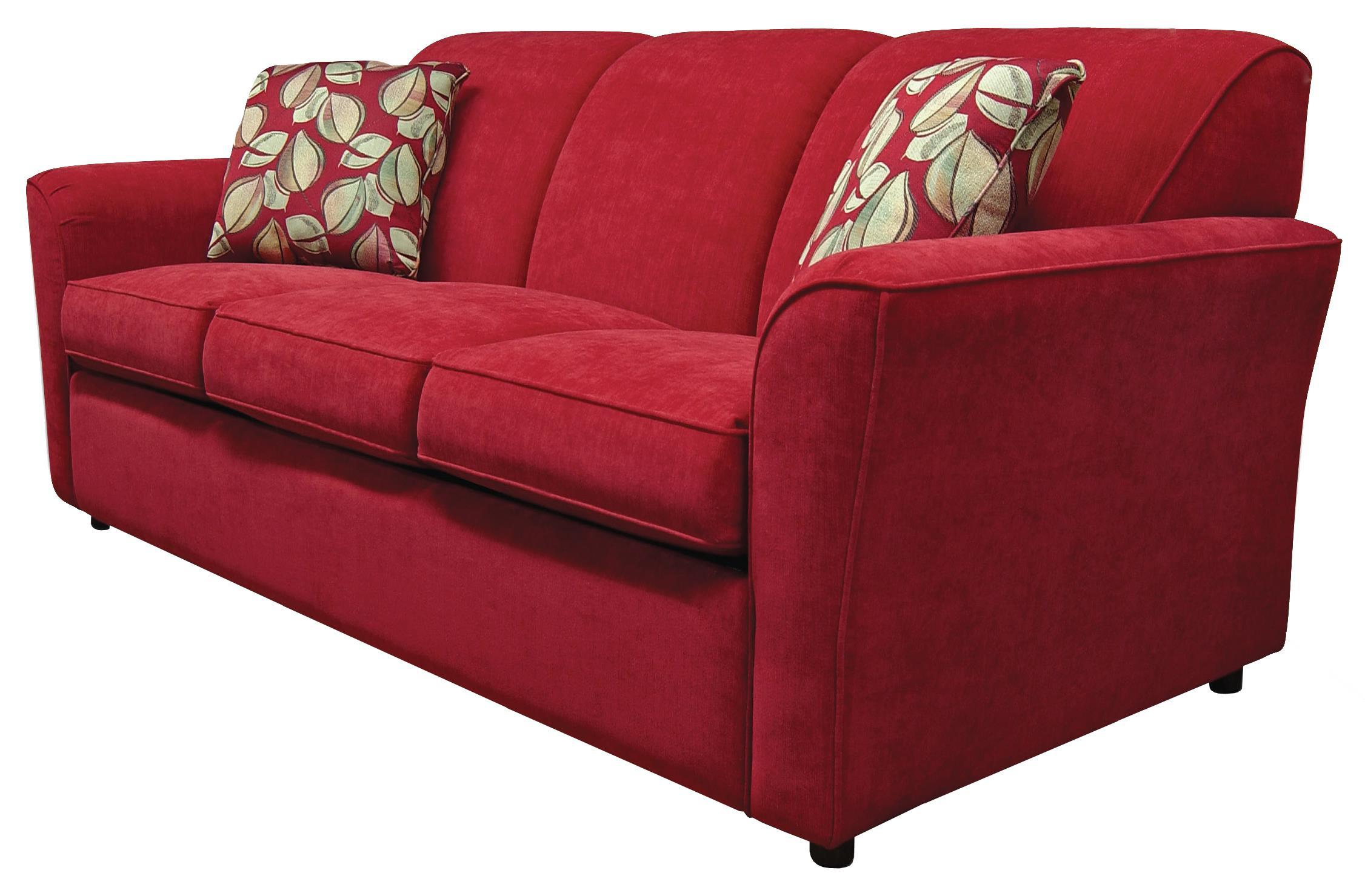 England Smyrna Queen Size Sleeper Sofa with Visco Mattress ...
