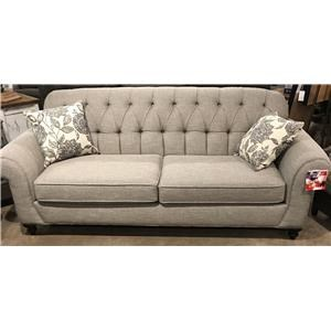 Sofa with Tufted Seat Back
