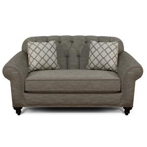 Loveseat with Tufted Back