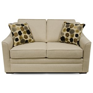 Contemporary Casual Loveseat