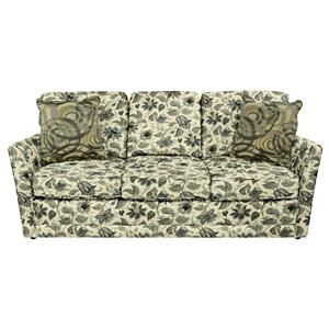 Simple Sofa with Tapered Arms