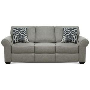 Sofa with Power Ottoman