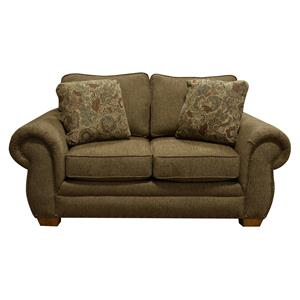 England Walters Loveseat with Nailhead Trim