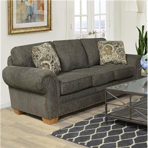 Sofa Sleeper with Nailhead Trim