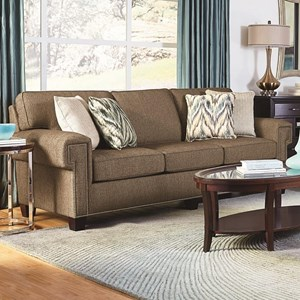 Sofa Sleeper with Nailhead Trim