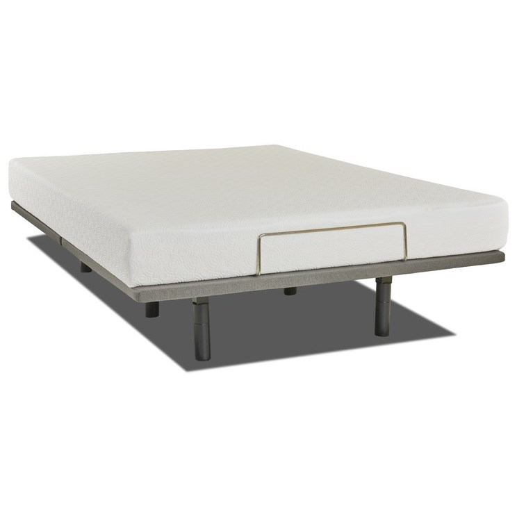 """Allure 8 Full 8"""" Gel Memory Foam Adj Set by Enso Sleep Systems at EFO Furniture Outlet"""