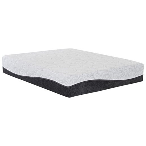 """Calle Hybrid Full 12"""" Hybrid Mattress Adjustable Set by Enso Sleep Systems at EFO Furniture Outlet"""