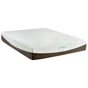 "Enso Sleep Systems Denali Twin XL 10"" Gel Memory Foam Mattress Set"