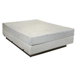 "Enso Sleep Systems Kona King 8"" Gel Memory Foam Mattress Set"