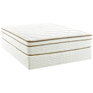 "Enso Sleep Systems The Natural King 12"" Memory Foam Mattress Set"
