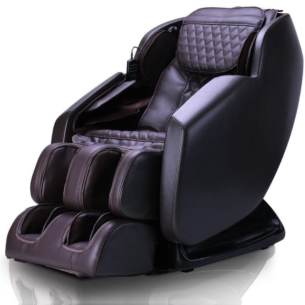 Neptune Brown Massage Chair by Ergotec at Sam Levitz Furniture