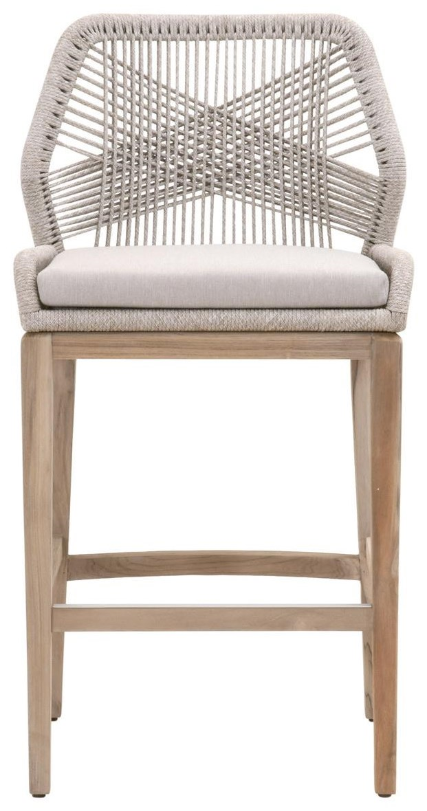 Loom Seating Outdoor Counter Stool by Essentials for Living at Baer's Furniture