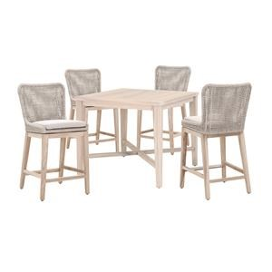 Counter Table And 4 Stools