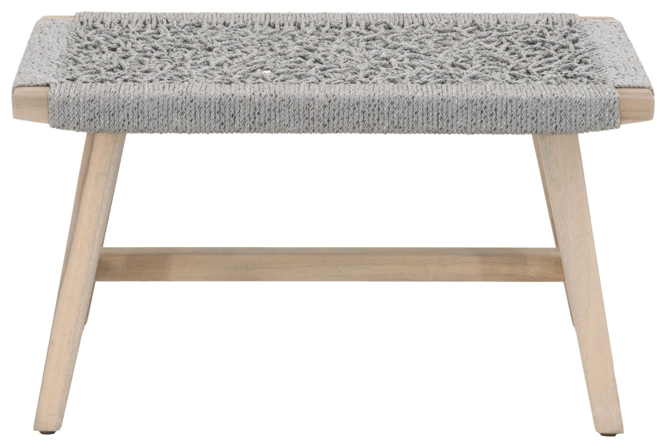 Wicker Outdoor Accent Stool by Essentials for Living at C. S. Wo & Sons Hawaii