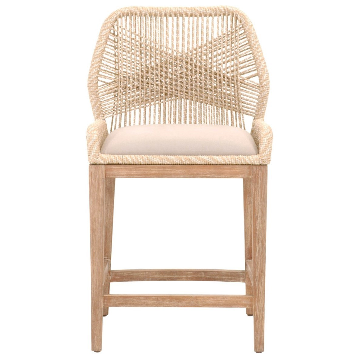 Woven Loom Counter Stool by Essentials for Living at Baer's Furniture