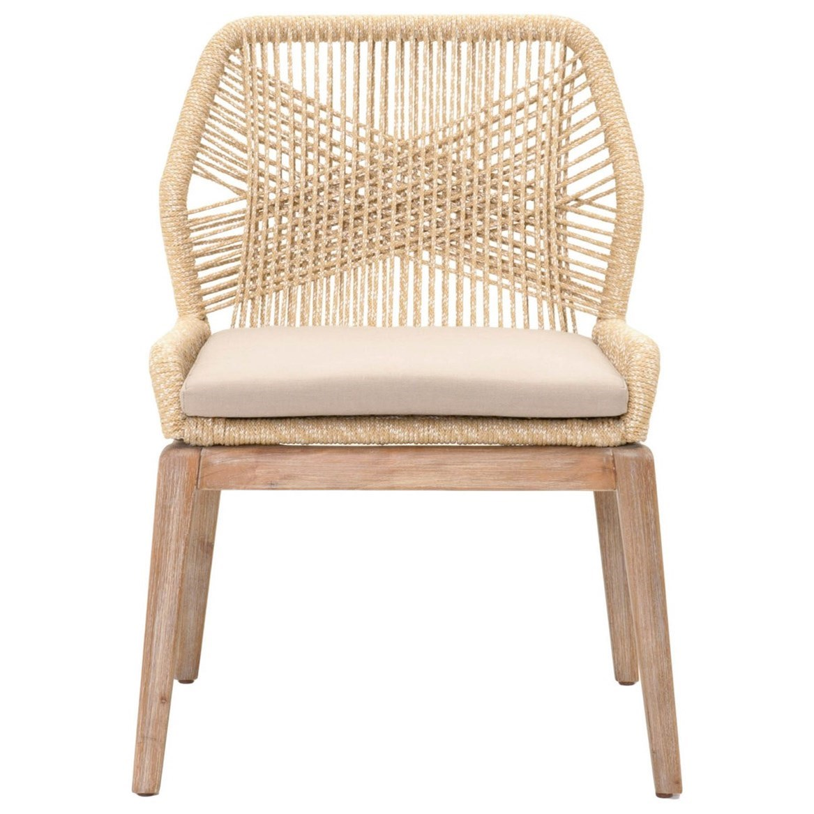 Woven Loom Dining Chair by Essentials for Living at Baer's Furniture