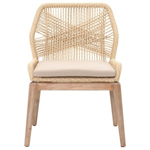 Loom Woven Rope Dining Chair