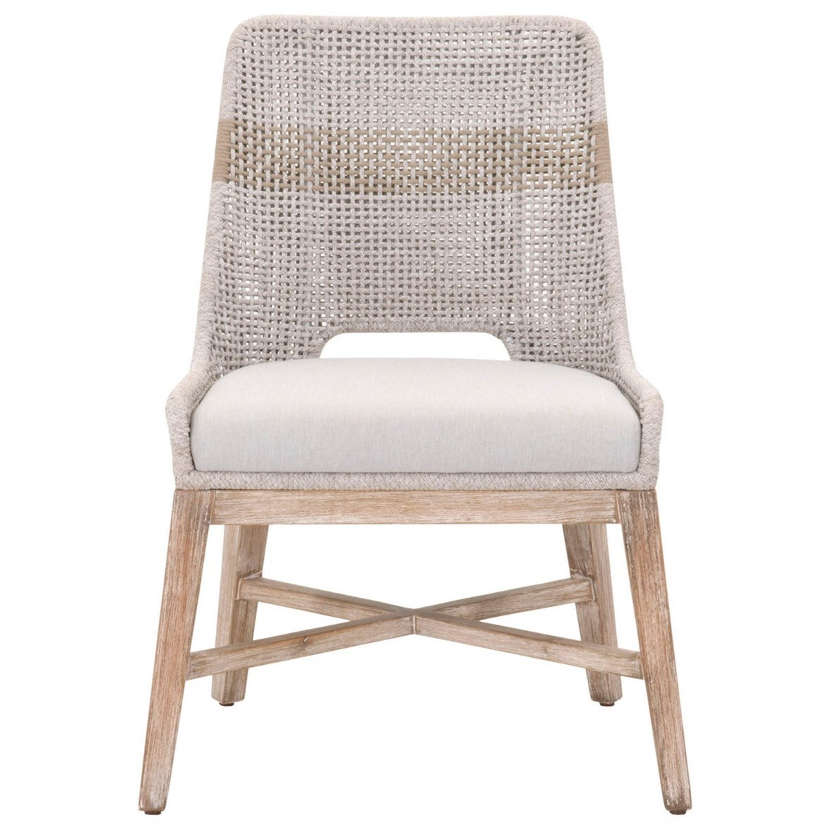 Woven Tapestry Dining Chair by Essentials for Living at Baer's Furniture