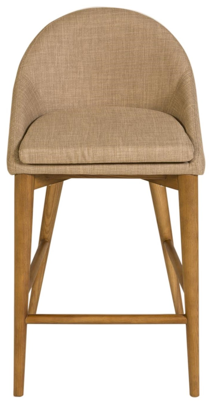 Baruch Counter Stool by Eurø Style at C. S. Wo & Sons California