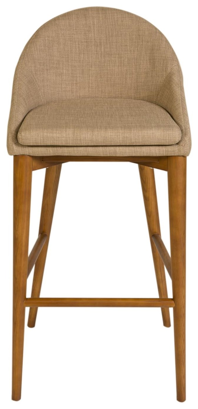 Baruch Barstool by Eurø Style at C. S. Wo & Sons California