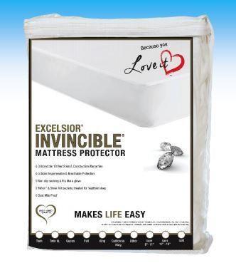 "10"" Invincible Gen 2 Twin Mattress Protector by Excelsior at SlumberWorld"