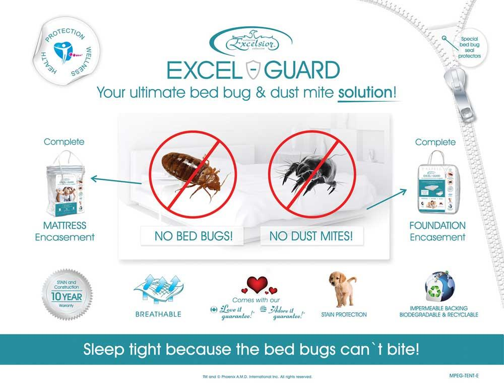 "Excel Guard 9"" Cal King Foundation Encasement by Excelsior at SlumberWorld"
