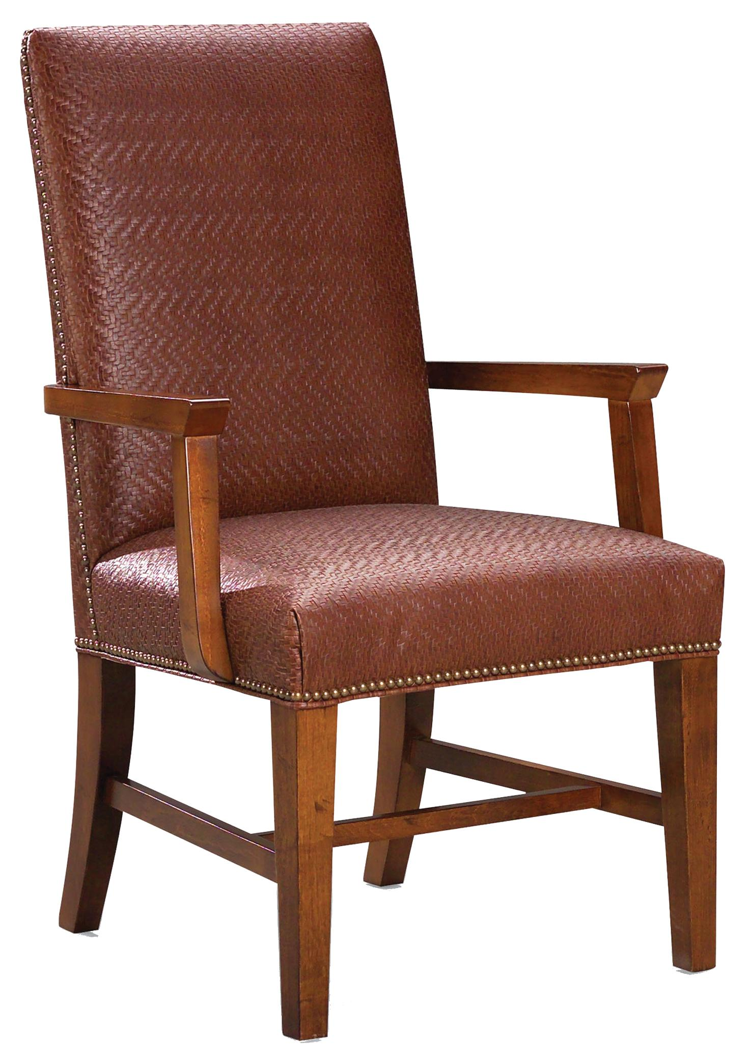1011  Arm Chair by Fairfield at Stuckey Furniture