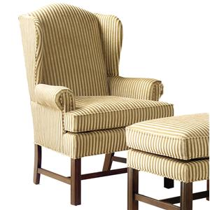 Fairfield 1072 Upholstered Wing Chair