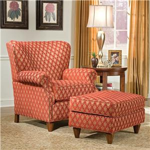 Fairfield 1403 Chair and Ottoman