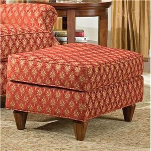 Traditional UpholsteredOttoman