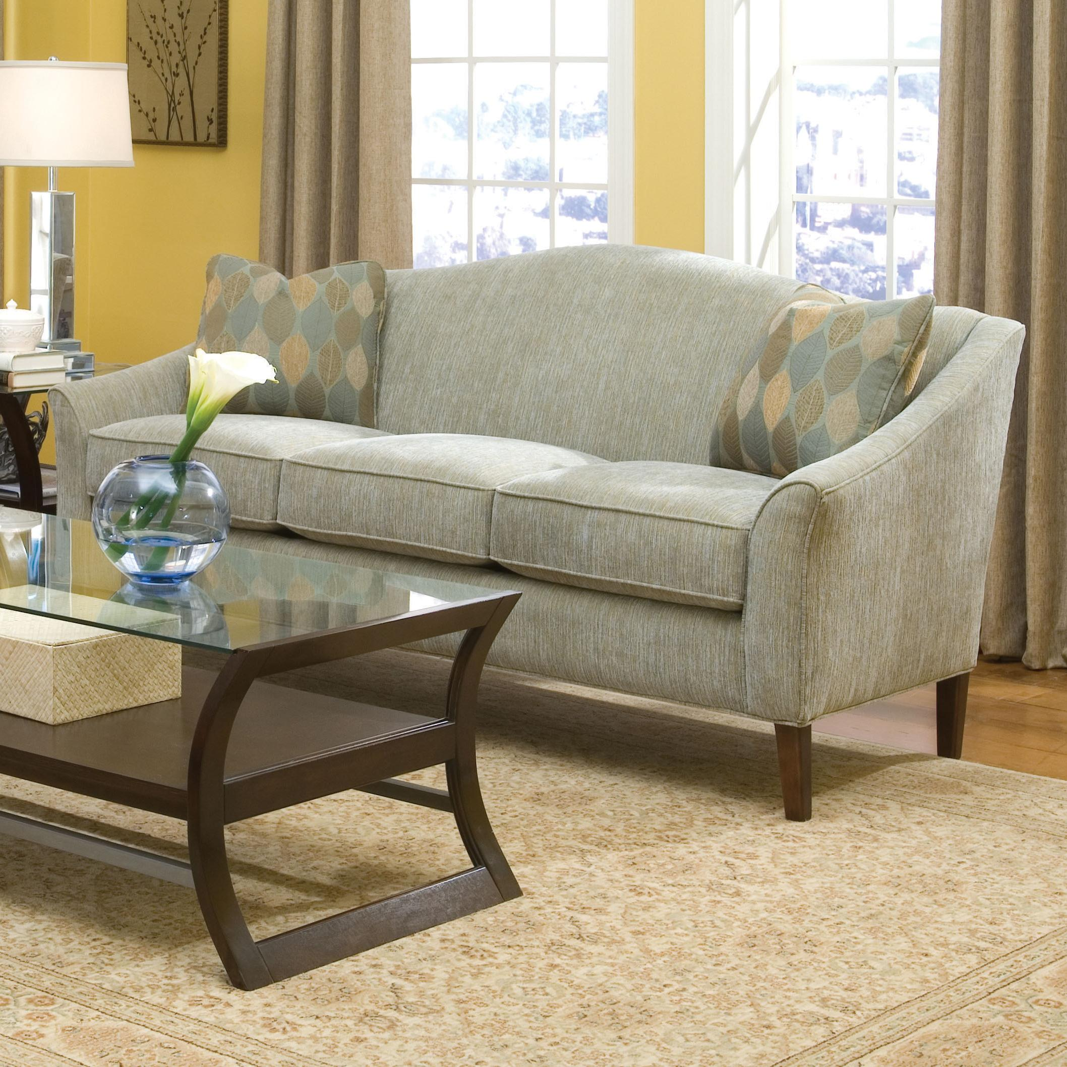 2710 Stationary Sofa by Fairfield at Lindy's Furniture Company