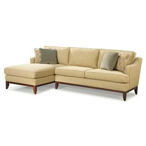 Contemporary Sectional Sofa with Left-Side Chaise