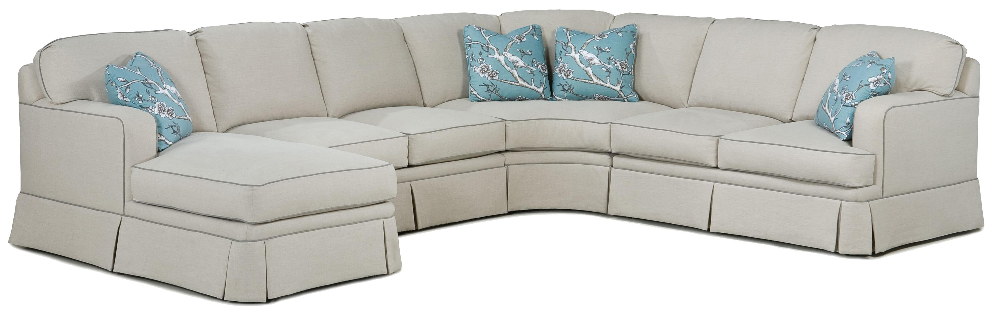 2TKS Contemporary Sectional by Fairfield at Belfort Furniture
