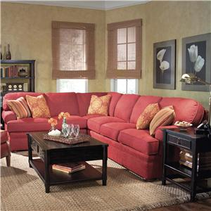 Fairfield 3722 Sectional Sofa