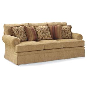 Fairfield 3736 Skirted Stationary Sofa