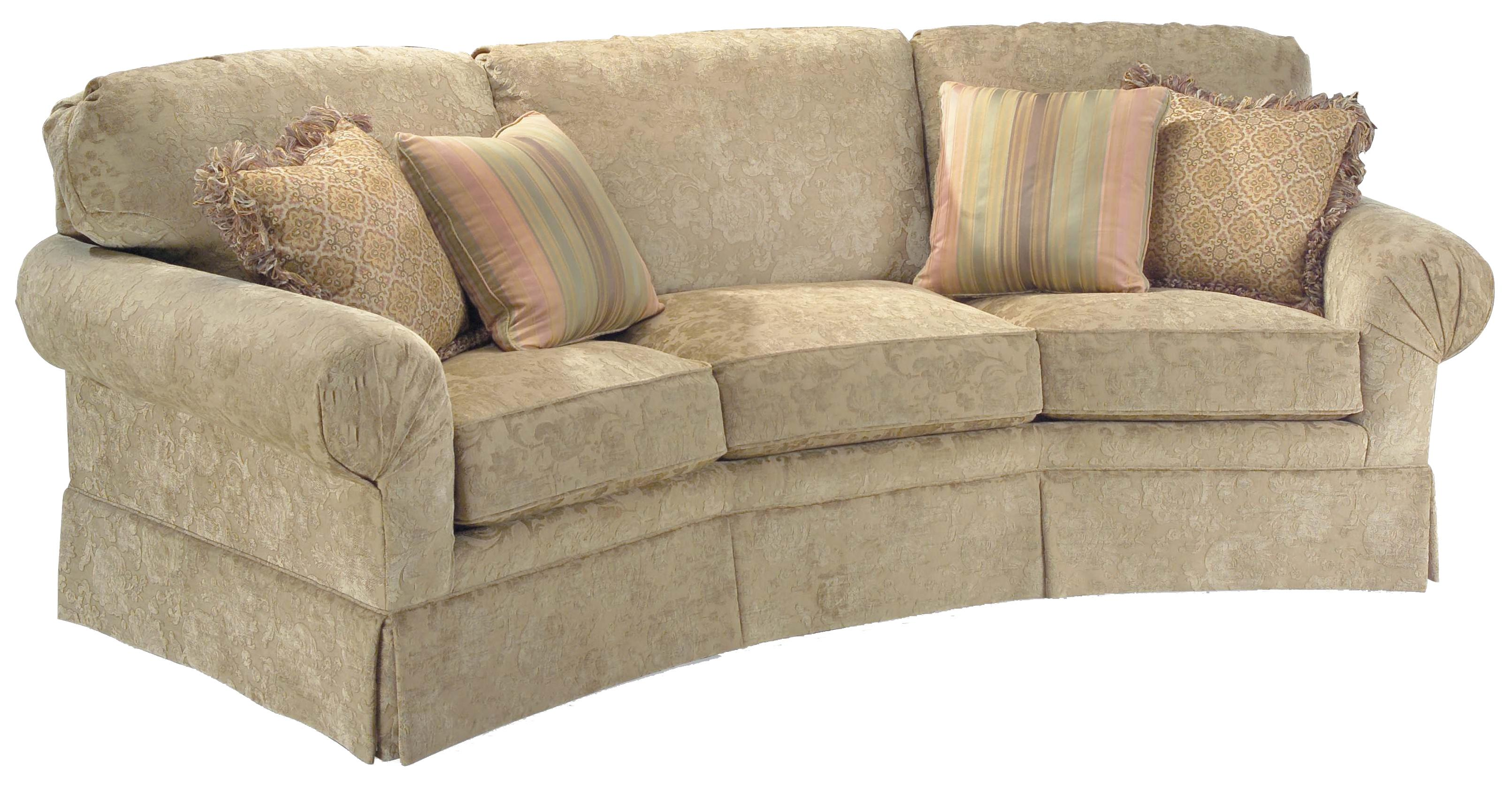3766 Corner Sofa by Fairfield at Belfort Furniture