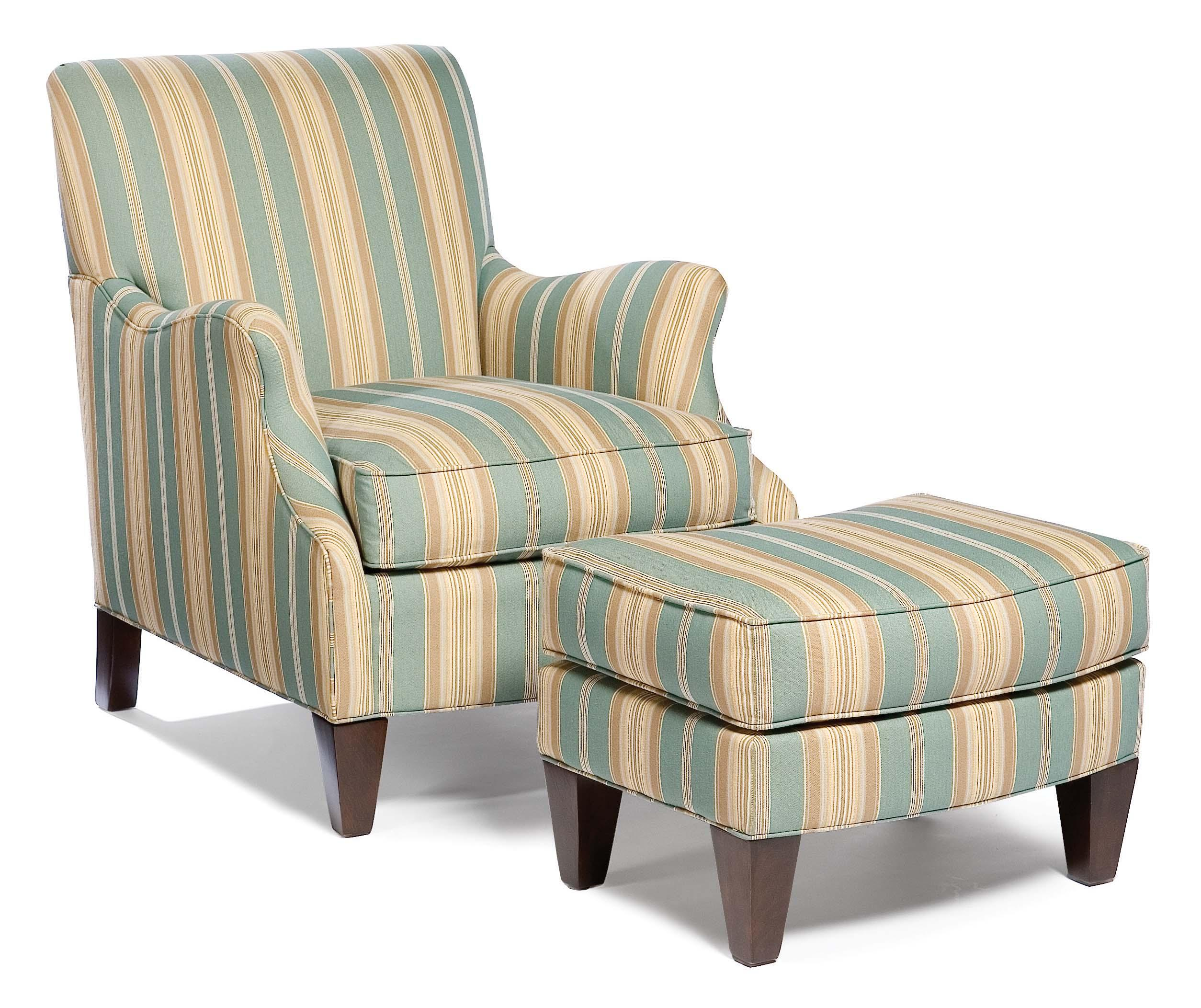 5706 Stationary Chair and Ottoman by Fairfield at Lindy's Furniture Company