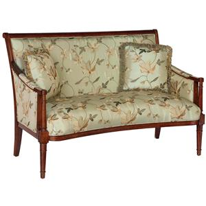 Exposed Wood Settee
