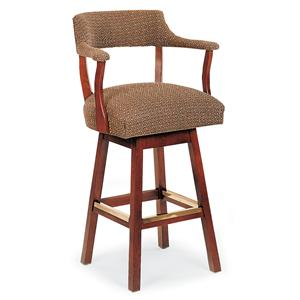 Fairfield Barstools Exposed Wood Bar Stool