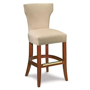 Fairfield Barstools Upholstered Barstool w/ Curved Back